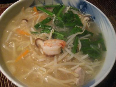 スープ春雨
