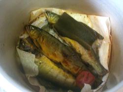 鮎の甘露煮2