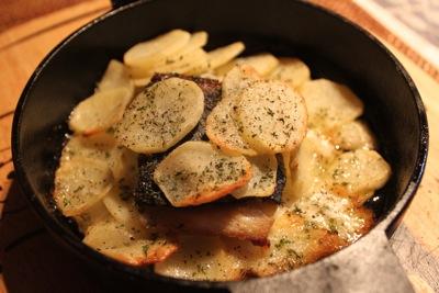 ひらまさとポテトのオーブン焼き