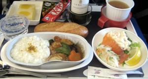 Air France 夕食