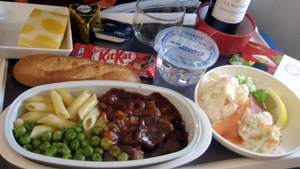 Air France 夕食2