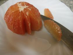グレープフルーツサラダ3