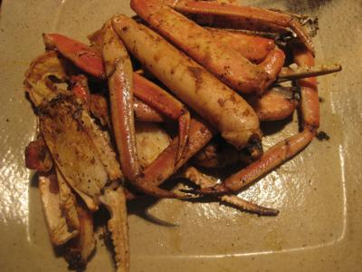 蟹のカレー風味