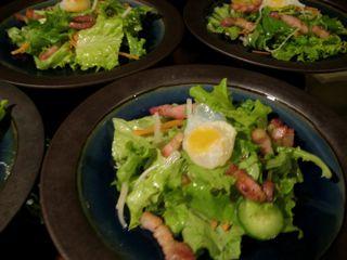 リヨン風サラダ