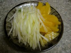 オレンジとセロリのサラダ2