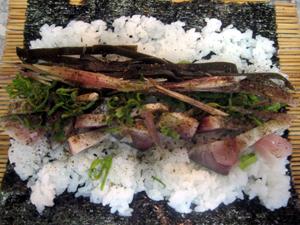 鯖巻き寿司2