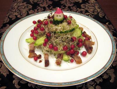 クリスマスサラダ2