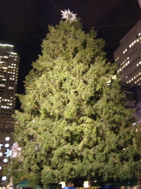 ロックフェラーのクリスマスツリー