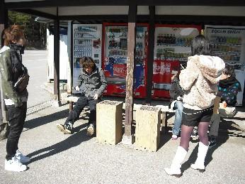 江戸村の外