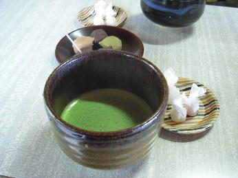 兼六園 お抹茶