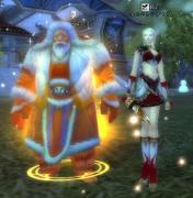 サンタさんとツーショット