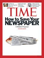 TIME save newspaper