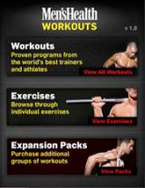 Men's Health iPhone apps