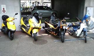 うちのバイクたちその2