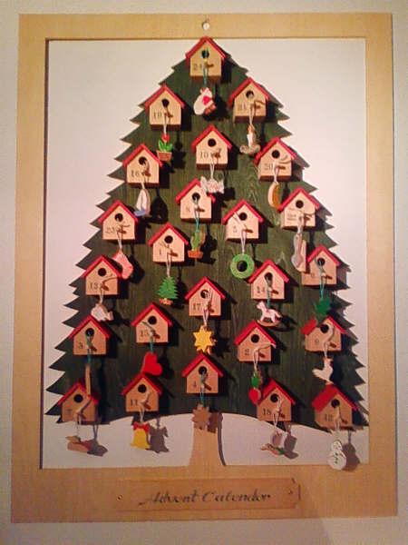 クリスマスアドベントツリー