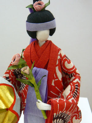 和紙の人形3