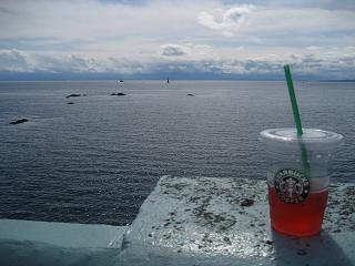 海とスタバ