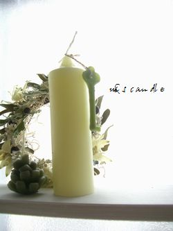 simple candle