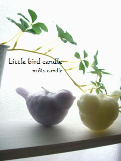 little bird candle