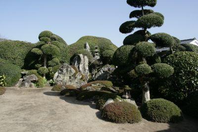 枯山水の庭1