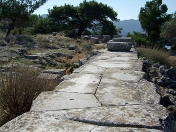 アテナ神殿跡