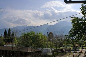 051731SafetisHotelよりオリンポス山