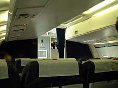 アトランティック航空機内