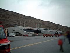 緑国カンゲルルススアーク空港到着!