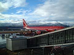 グリーンランド航空機
