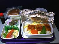 中国東方航空機内食1
