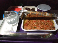 中国東方航空機内食3