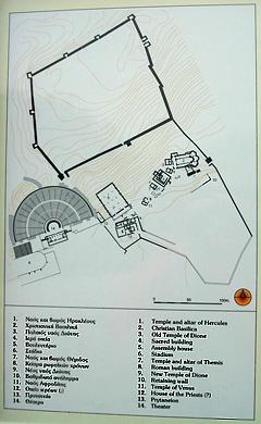 ドドナ遺跡地図