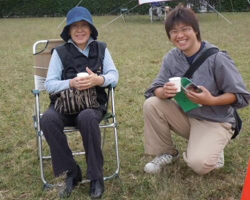 恵津子先生と田村君