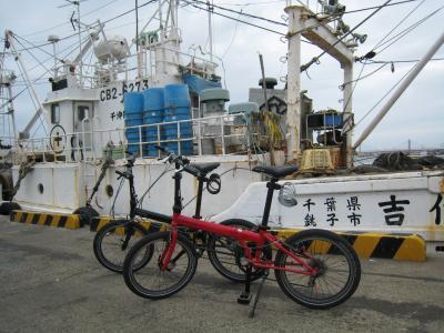 漁船とダホン