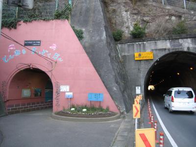トンネル水族館1