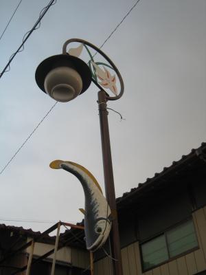 なまず街灯