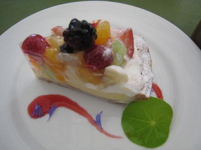 ハーブ園ケーキ2