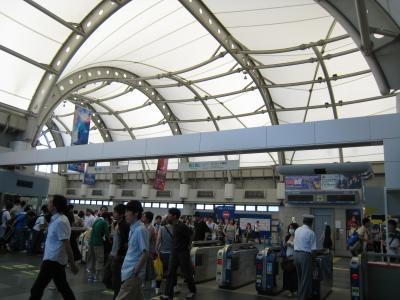 国際展示場駅3