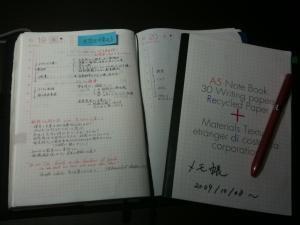091020_ほぼ日+A5ノート