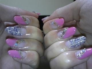ピンク&ツイード