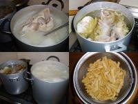 豚頭骨スープ