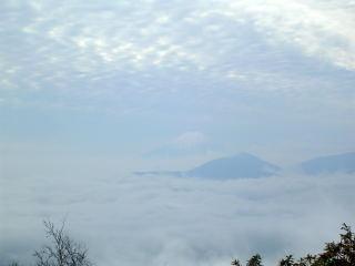 ようやく見えた富士山
