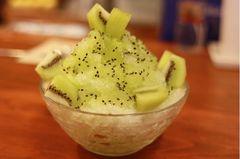山口果物キウィカキ氷