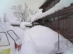 大雪警報三日目