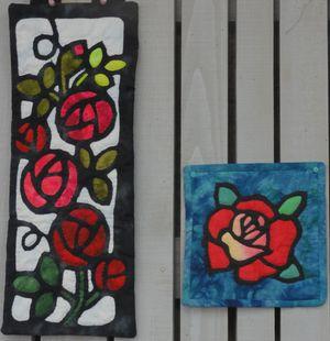 画像 104薔薇のキルト