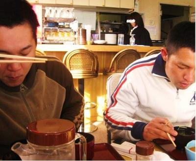 カネコさんと、モリムラさん