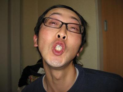 天津木村(てんしんきむら)さんのマネ