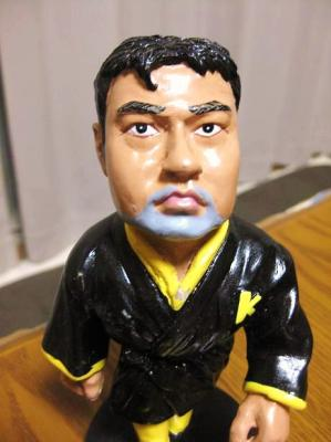 川田利明(かわだ としあき)選手の人形