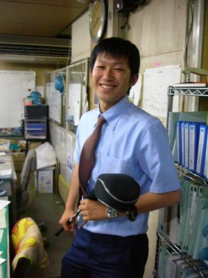 職場のハヤノ君