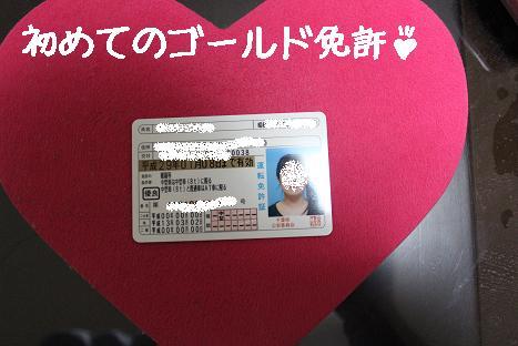 ゴールド免許1